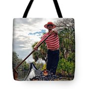 Gondola Ride In City Park New Orleans Tote Bag