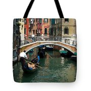 Gondola Ride Tote Bag