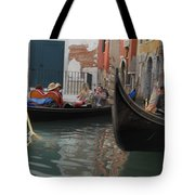 Gondolas In Venice Tote Bag