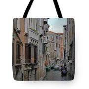 Gondolas On Backstreet Canal Tote Bag