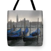 Gondolas On Grand Canal Tote Bag