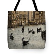 Gondolas On The Grand Canal Tote Bag