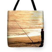 Gone Fishin' Instead Of Just A-wishin' Tote Bag