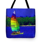 Gone For A Sail Tote Bag