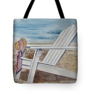 Gone For A Walk Tote Bag