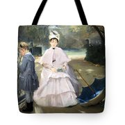 Gonzales' Nanny And Child Tote Bag