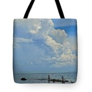 Good Day For Fishing Tote Bag