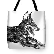Good Dog Tote Bag by Michael Volpicelli