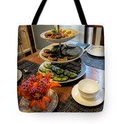 Good Eats In A Lovely Setting Tote Bag