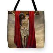 His Ultimate Gift Of Mercy - Jesus Christ Tote Bag