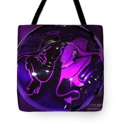 Good Girl Bad Girl Tote Bag by Tom Gari Gallery-Three-Photography