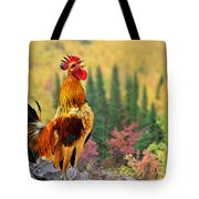 Good Morning America Tote Bag by Christine Till