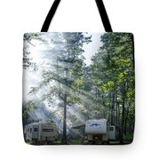 Good Morning Campers Tote Bag