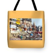 Good Morning Ganga Ji 2 Tote Bag
