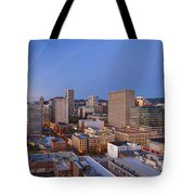 Good Morning Portland II Tote Bag