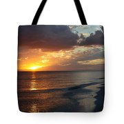 Good Night Sanibel Island Tote Bag