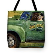 Good Ole Boys Tote Bag by Molly Poole
