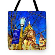 Good Vision By The Administration Building Tote Bag