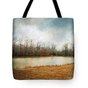 Goodbye Autumn Tote Bag by Jai Johnson