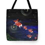 Goodnight Flowers Tote Bag