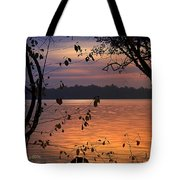 Goodnight Lake Tote Bag by Cindy Greenstein