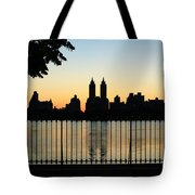 Goodnight Nyc Tote Bag