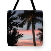 Goodnight Waterside  Tote Bag by K Simmons Luna