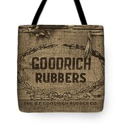 Goodrich Rubbers Boot Box Tote Bag by Tom Mc Nemar