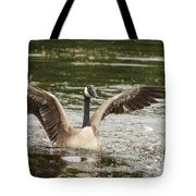 Goose Action Tote Bag