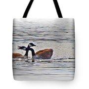 Goose Crossing Tote Bag