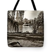 Goose In Central Park Nyc Tote Bag