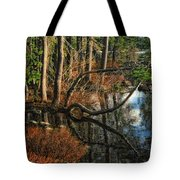 Goose Lake Twilight Tote Bag