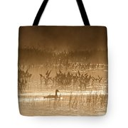 Goose Of The Mist Tote Bag