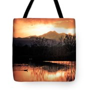 Goose On Golden Ponds 1 Tote Bag