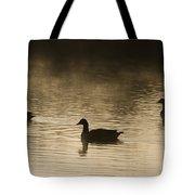 Goose Silhouette Tote Bag