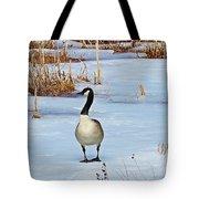 Goose Standing Tote Bag