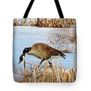 Goose Walking Tote Bag