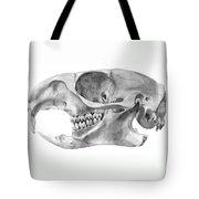 Gopher Skull Tote Bag