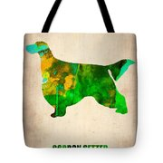 Gordon Setter Poster 2 Tote Bag by Naxart Studio