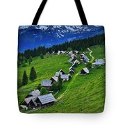 Goreljek Shepherding Village In Alpine Tote Bag