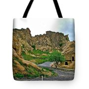 Goreme Open Air Musuem With Six Early Christian Churches In Capp Tote Bag