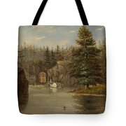 Gorge Of The St Croix Tote Bag by Henry Lewis