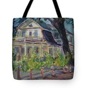 Gorge White House Tote Bag