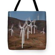 Gorge Windmills Tote Bag