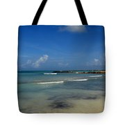 Gorgeous Beach In Aruba Tote Bag
