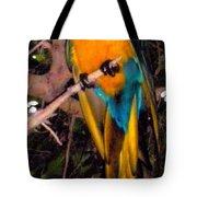 Gorgeous Golden Tote Bag