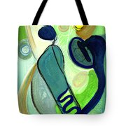 Gorgeous In Green Tote Bag