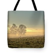 Gorgeous Morning On The Farm Tote Bag