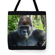 Gorilla Headshot Tote Bag