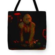 Gorilla Painted Tote Bag
